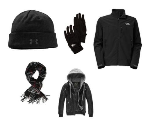 Winter Gear Collage